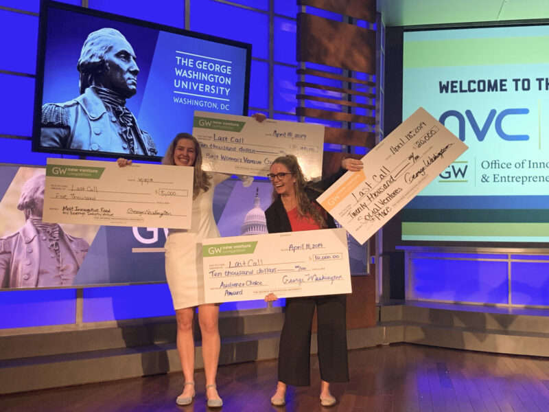 Winners of GW's 2019 New Venture Competition and $45k!